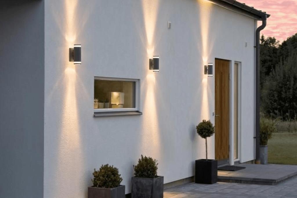 Waarom Solar wandlamp met up downlight