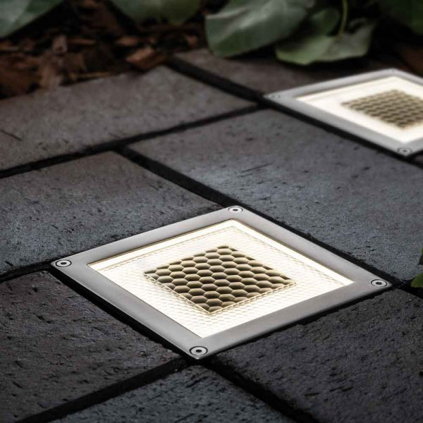 Solar grondspot LED vierkant - Premium design - Terrasverlichting