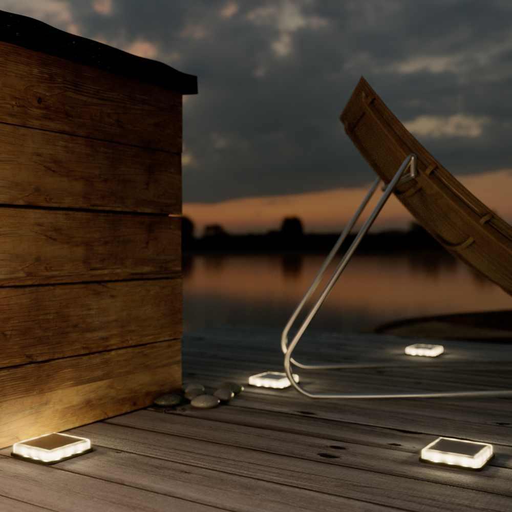 Solar vlonderspot LED - Decking - Terrasverlichting