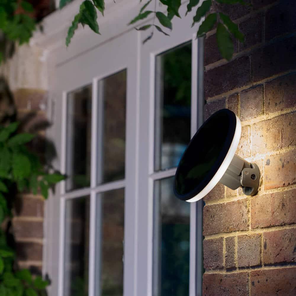 Solar wandlamp LED Halo - Design