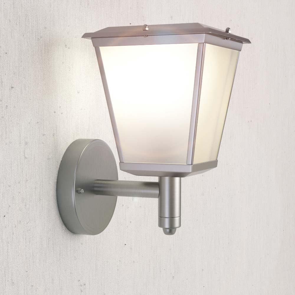 Solar wandlamp Candele chroom