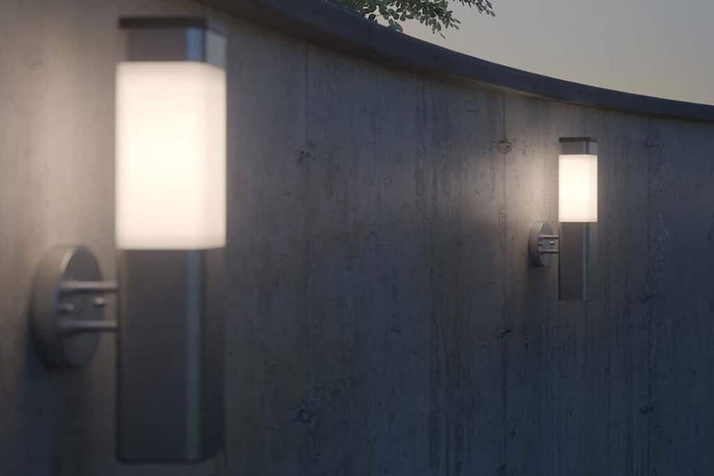 De meest geschikte solar wandlampjes voor in je tuin