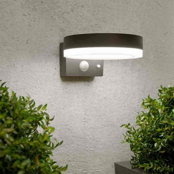 Solar wandlamp Halo - Bewegingssensor
